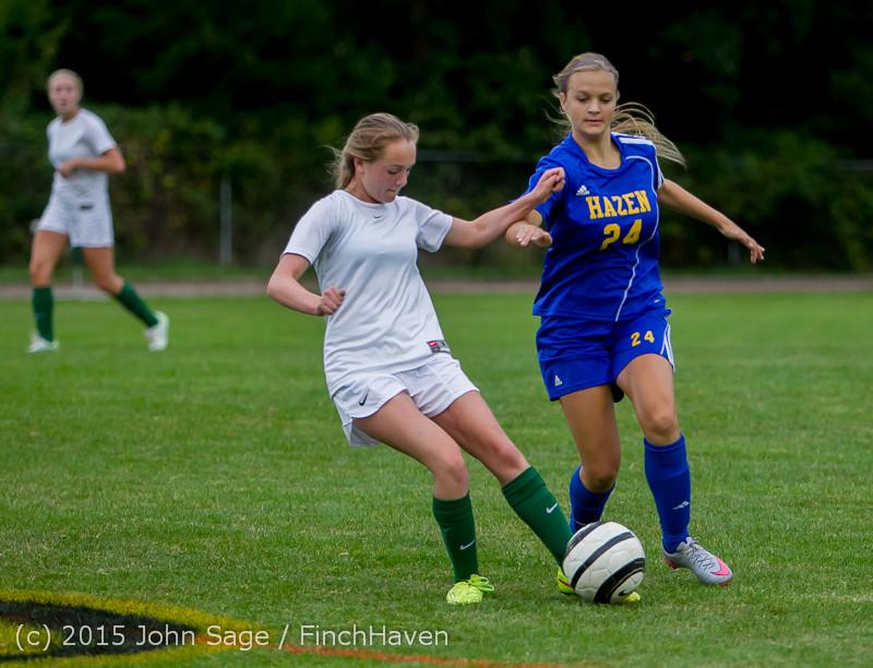21270 Girls Soccer v Hazen 091615
