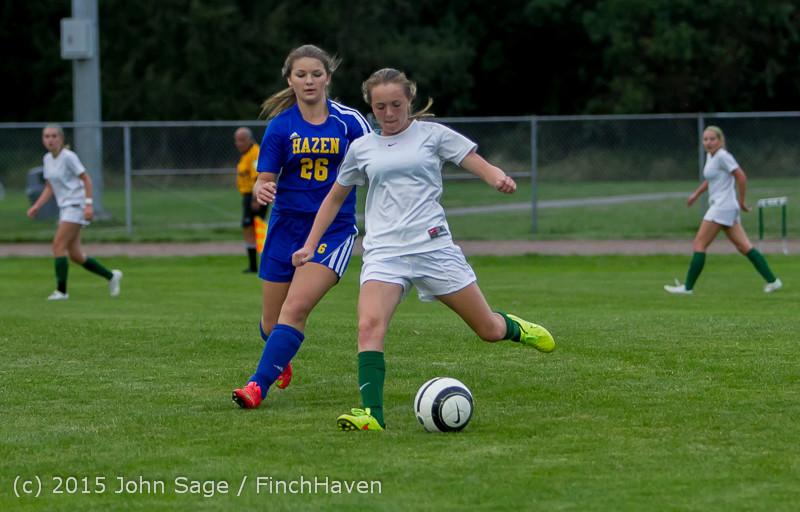 21404 Girls Soccer v Hazen 091615