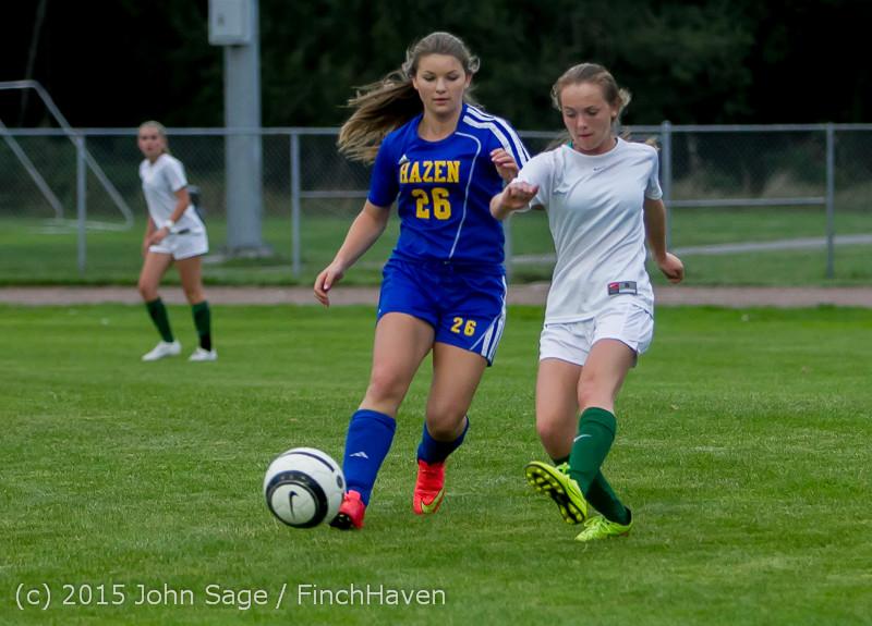 21406 Girls Soccer v Hazen 091615