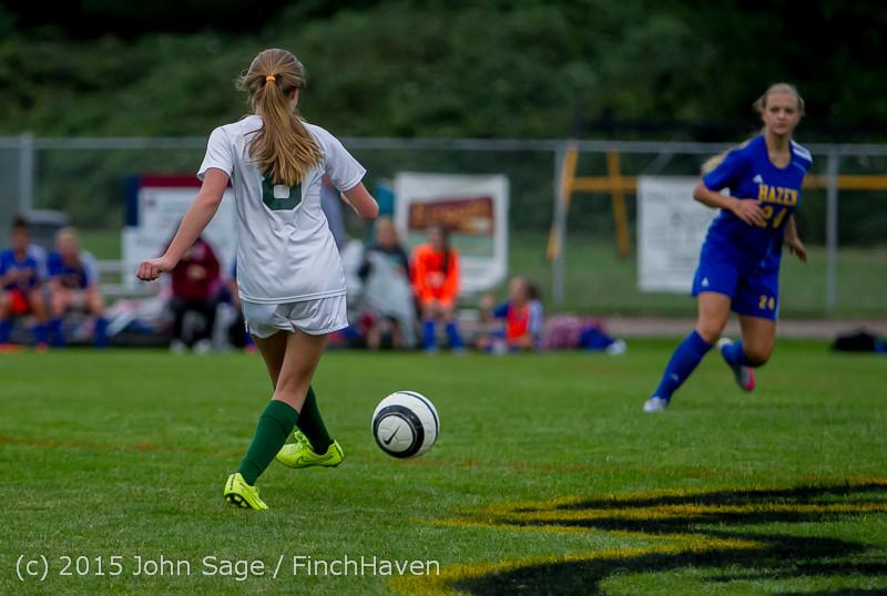 21431 Girls Soccer v Hazen 091615