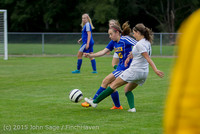 21613 Girls Soccer v Hazen 091615