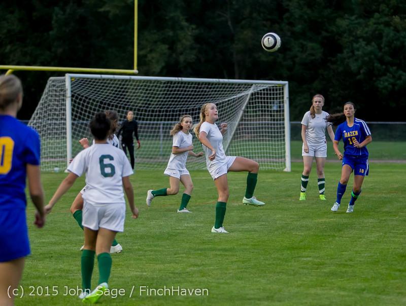 21930 Girls Soccer v Hazen 091615