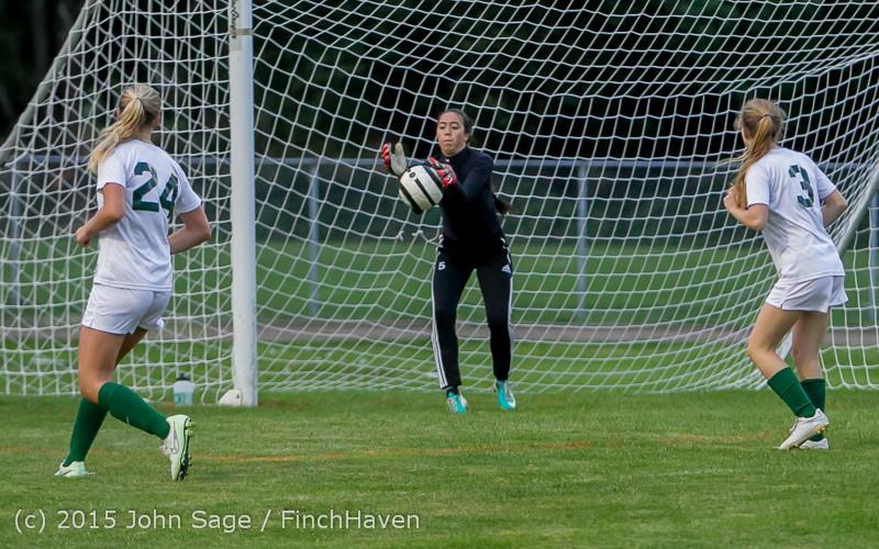 21981 Girls Soccer v Hazen 091615