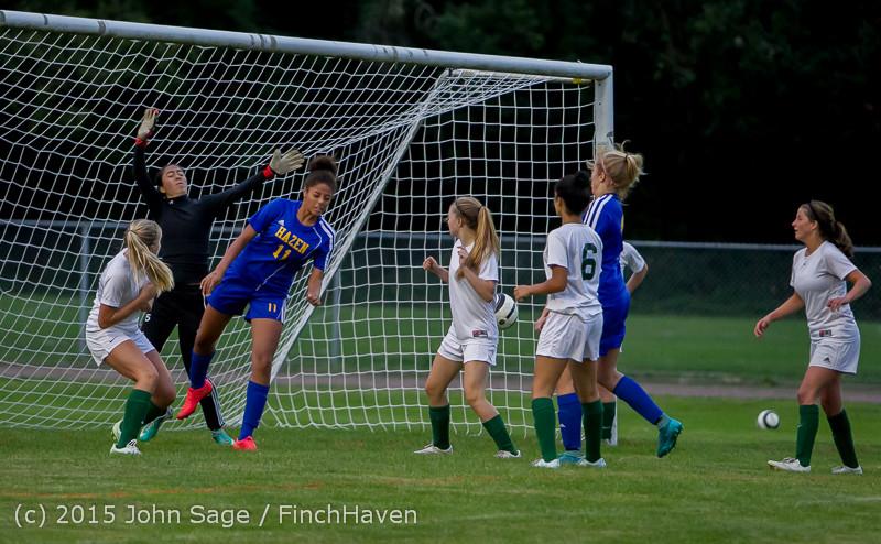 21993 Girls Soccer v Hazen 091615