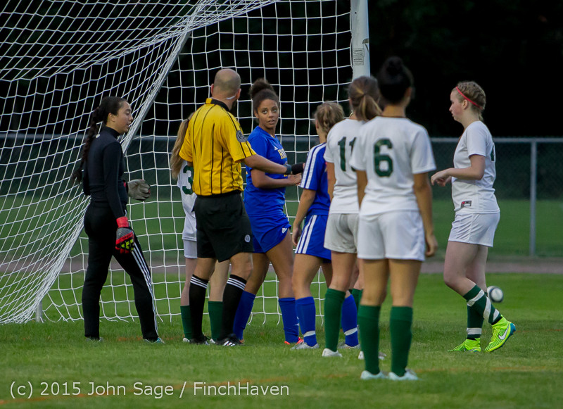 22001 Girls Soccer v Hazen 091615