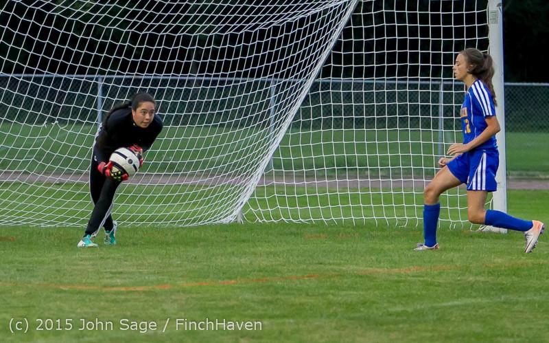 22039 Girls Soccer v Hazen 091615