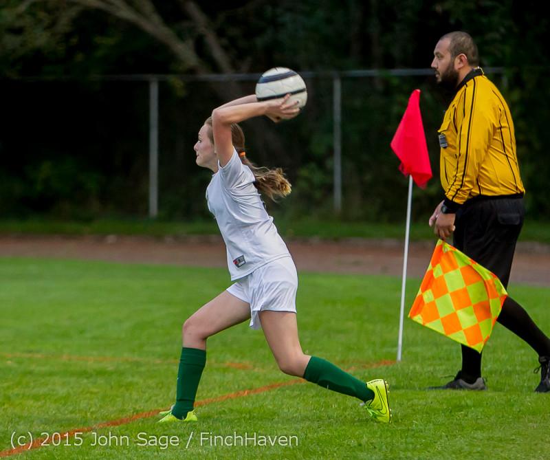 22219 Girls Soccer v Hazen 091615