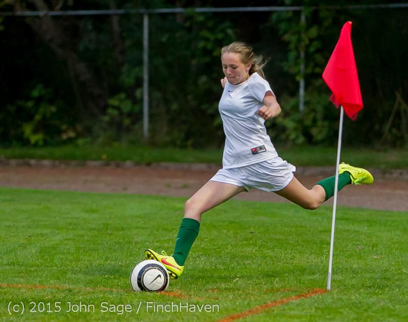 22234 Girls Soccer v Hazen 091615
