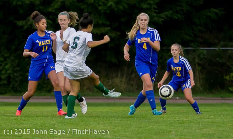 22257 Girls Soccer v Hazen 091615