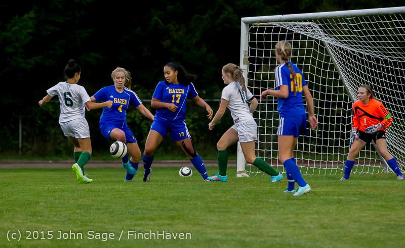 22265 Girls Soccer v Hazen 091615