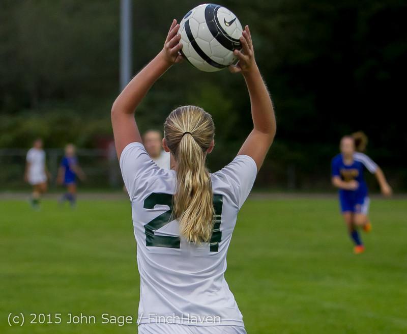 22403 Girls Soccer v Hazen 091615