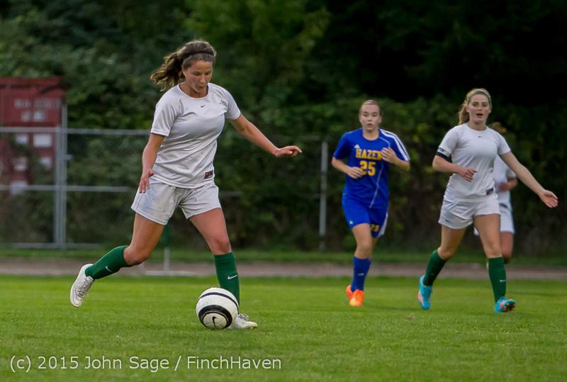 22542 Girls Soccer v Hazen 091615