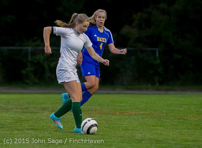 22554 Girls Soccer v Hazen 091615