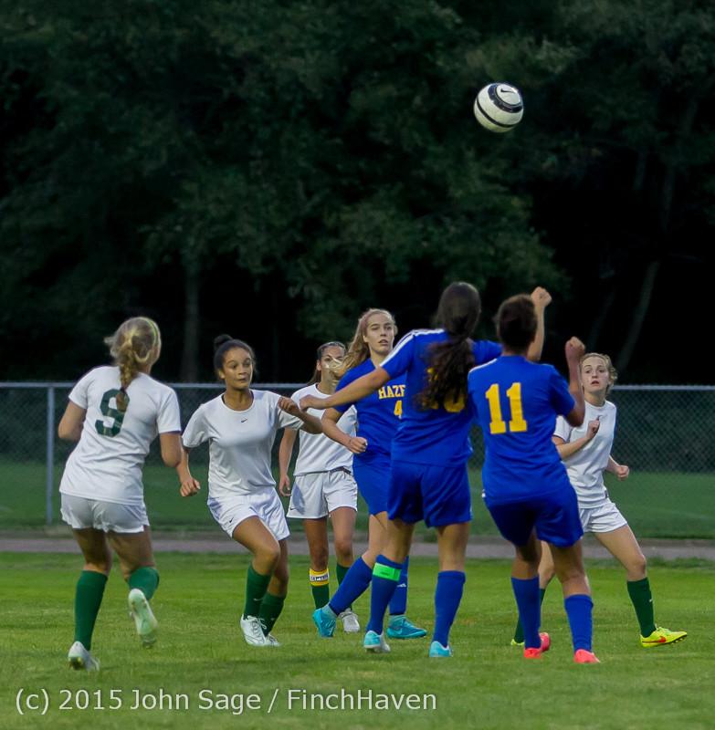 22560 Girls Soccer v Hazen 091615