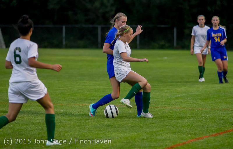 22602 Girls Soccer v Hazen 091615