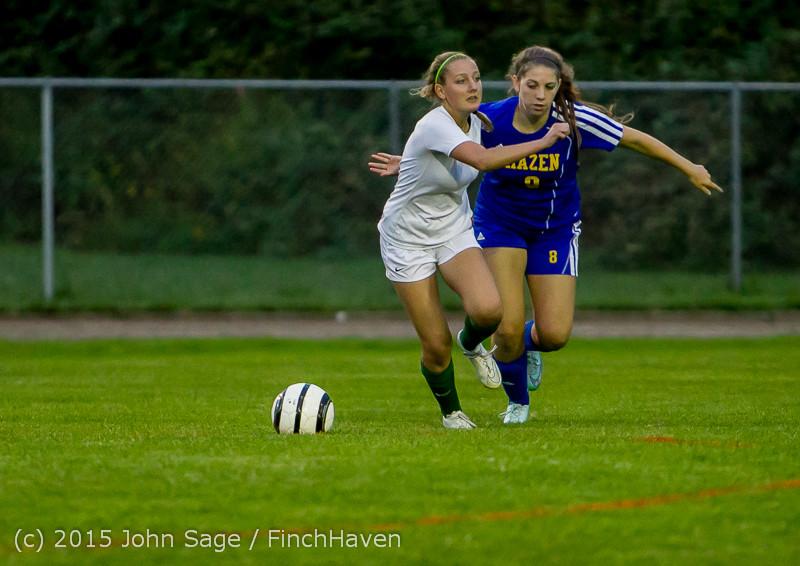 22615 Girls Soccer v Hazen 091615