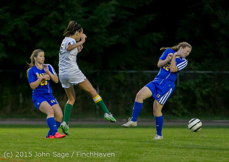 22730 Girls Soccer v Hazen 091615