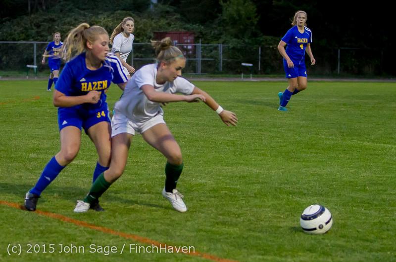 22782 Girls Soccer v Hazen 091615