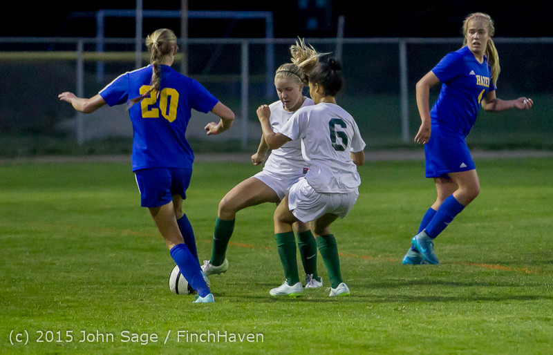 23327 Girls Soccer v Hazen 091615