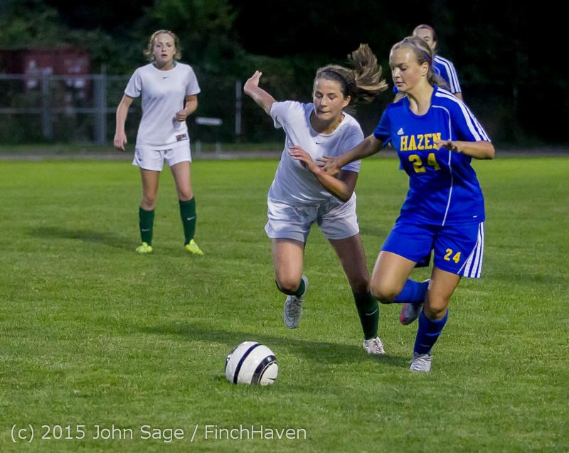 23374 Girls Soccer v Hazen 091615