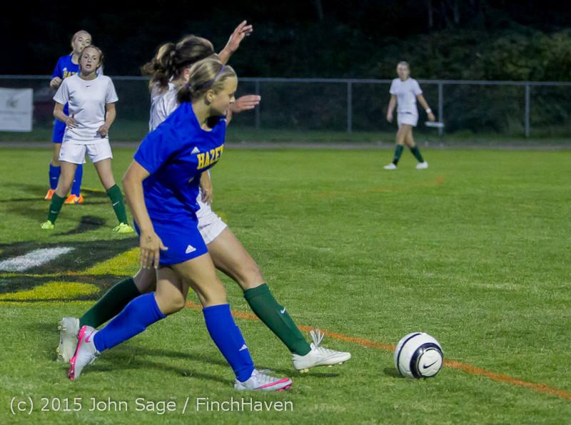 23381 Girls Soccer v Hazen 091615