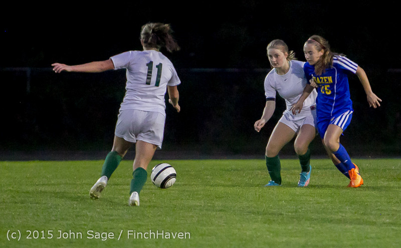 23565 Girls Soccer v Hazen 091615
