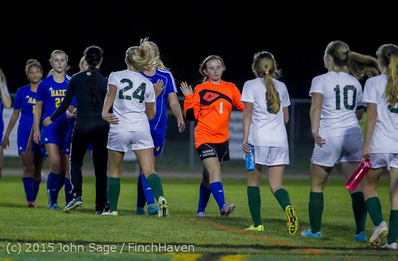 23670 Girls Soccer v Hazen 091615