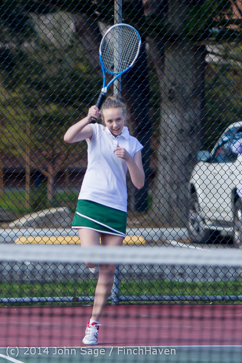 19993 Girls Tennis v CWA 042814