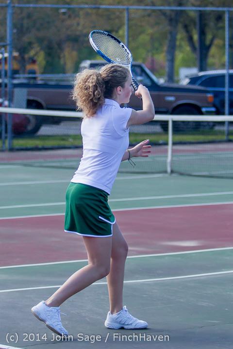20007 Girls Tennis v CWA 042814