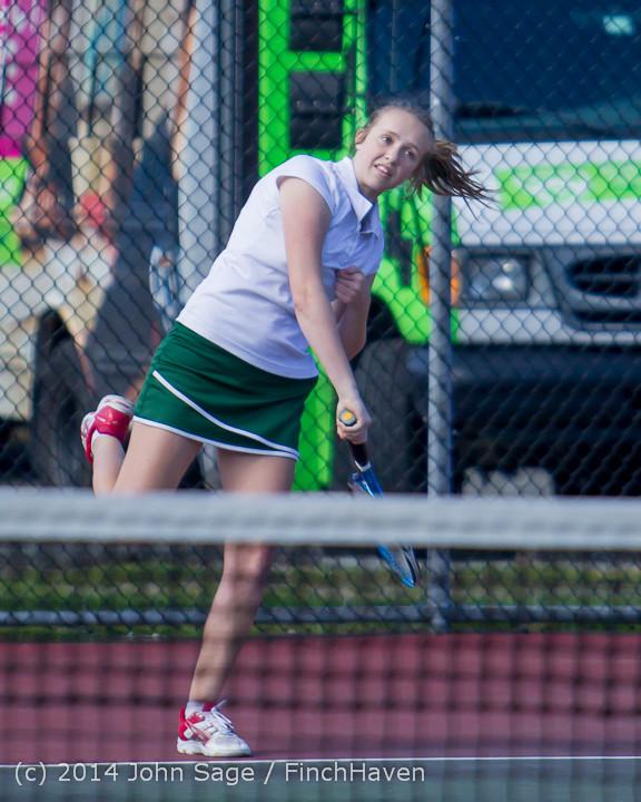 20015 Girls Tennis v CWA 042814