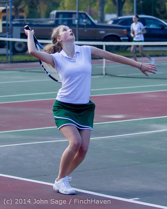 20067 Girls Tennis v CWA 042814