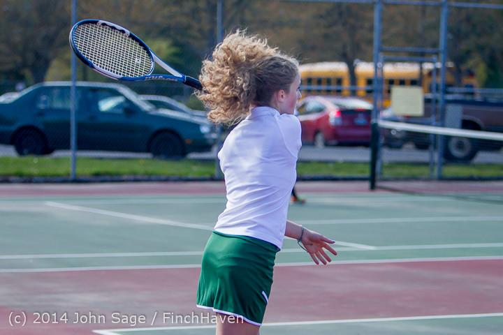 20072 Girls Tennis v CWA 042814