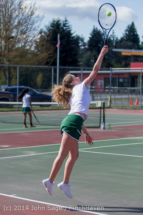 20090 Girls Tennis v CWA 042814