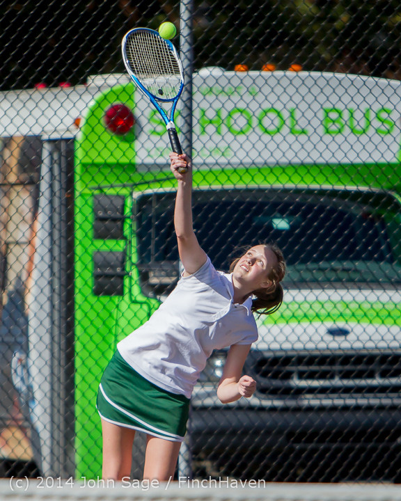 20107 Girls Tennis v CWA 042814