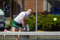 20116 Girls Tennis v CWA 042814