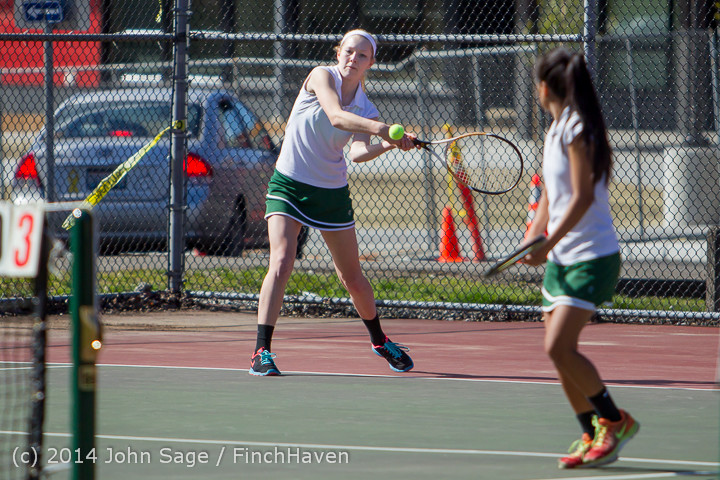 20118 Girls Tennis v CWA 042814
