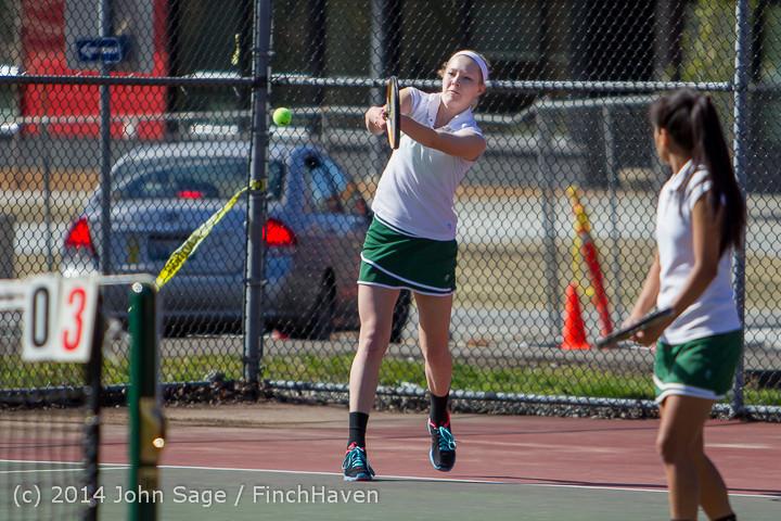 20119 Girls Tennis v CWA 042814