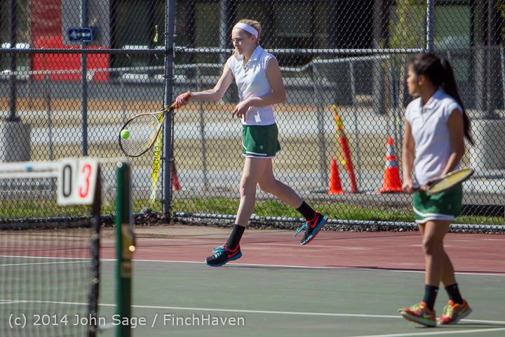 20122 Girls Tennis v CWA 042814