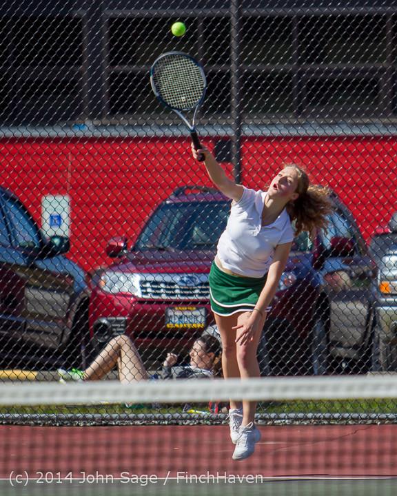 20157 Girls Tennis v CWA 042814