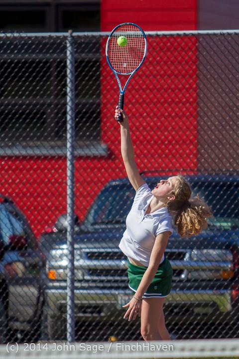 20168 Girls Tennis v CWA 042814