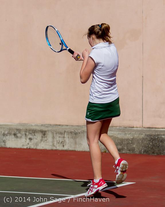 20185 Girls Tennis v CWA 042814