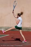 20191 Girls Tennis v CWA 042814