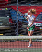 20204 Girls Tennis v CWA 042814