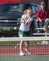 20235 Girls Tennis v CWA 042814