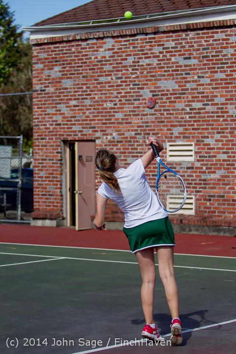 20296 Girls Tennis v CWA 042814