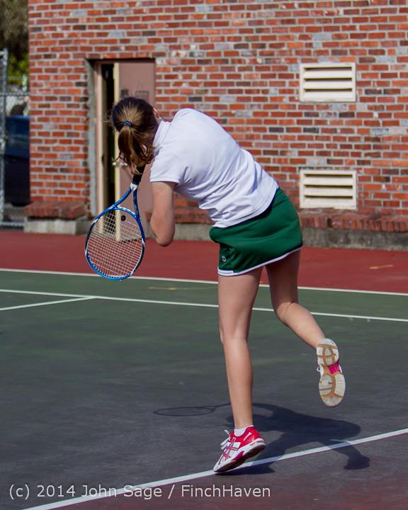 20298 Girls Tennis v CWA 042814