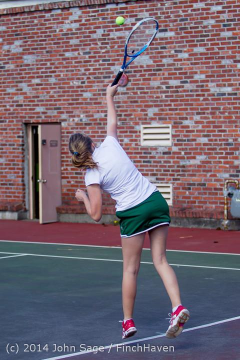 20313 Girls Tennis v CWA 042814
