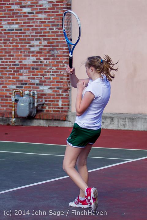 20316 Girls Tennis v CWA 042814