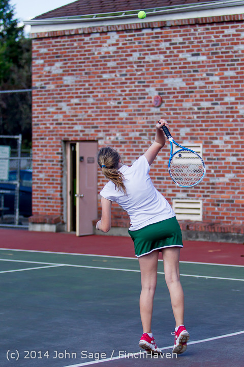 20317 Girls Tennis v CWA 042814