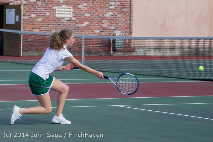 20430 Girls Tennis v CWA 042814